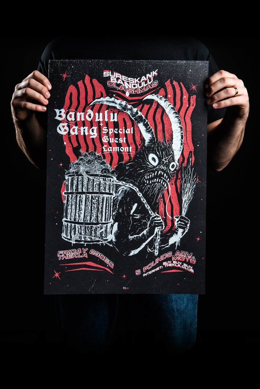 Image of BANDULU KRAMPUS (A2 SCREENPRINT)