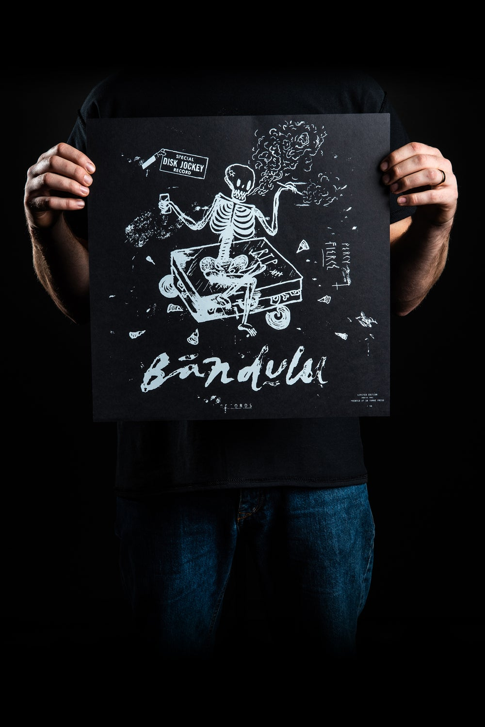 Image of BANDULU PERCY / FIERCE - SCREEN PRINTED POSTER