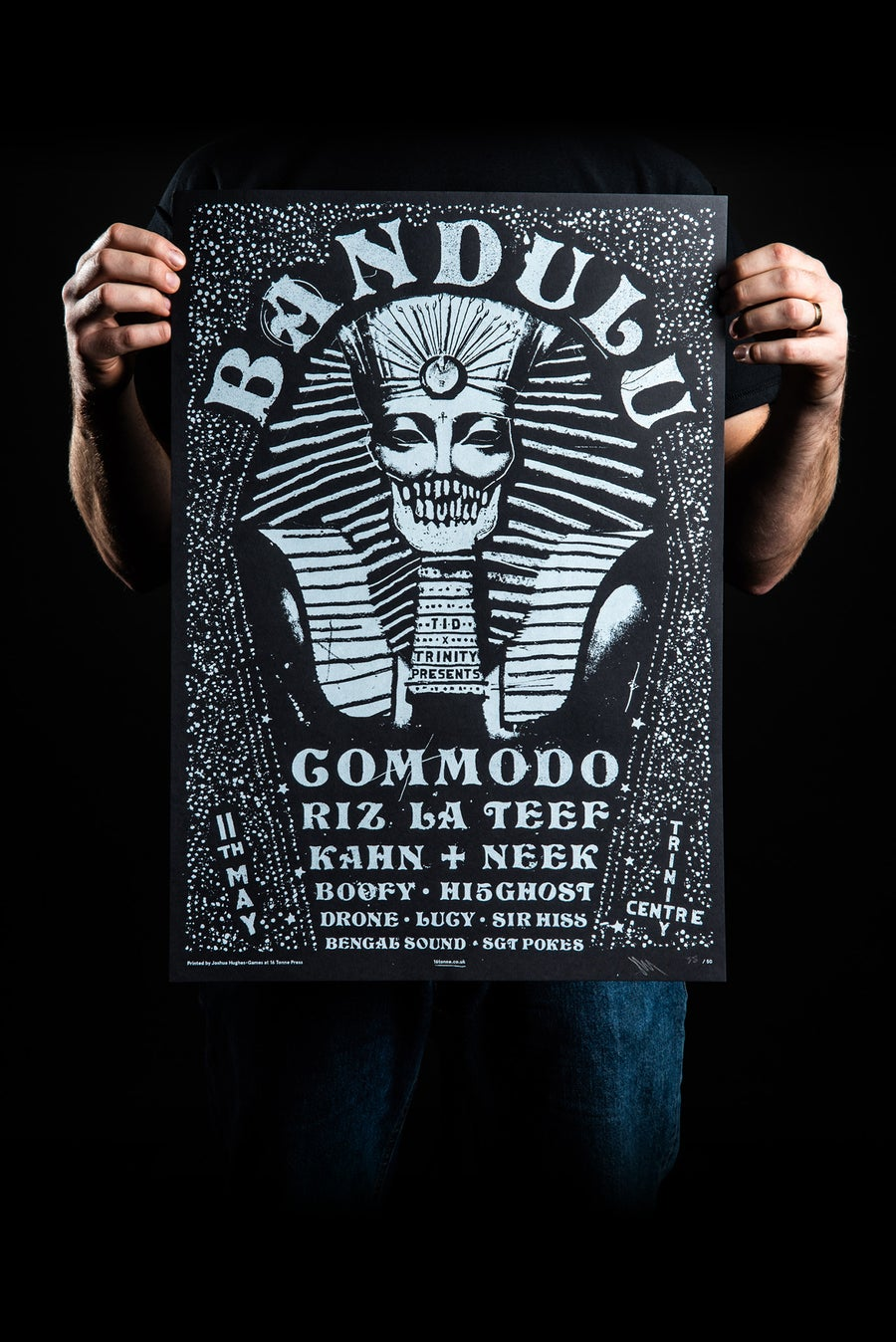 Image of BANDULU X TID (A2 SCREEN PRINT)