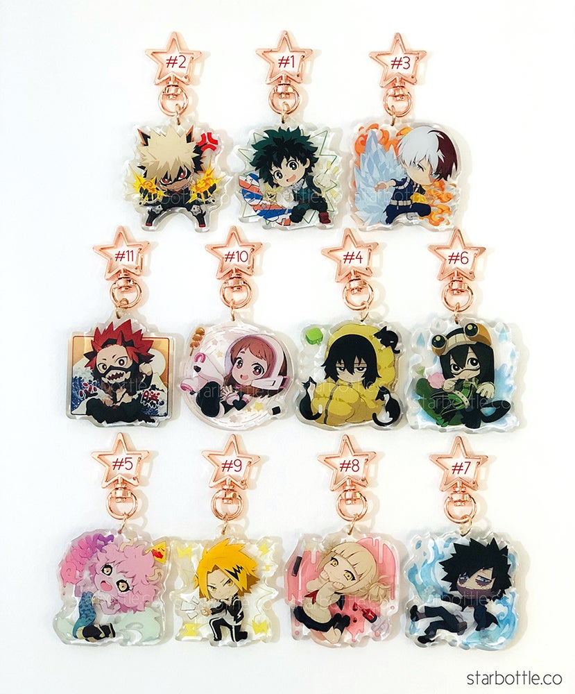 Image of [Acrylic Charms] BNHA