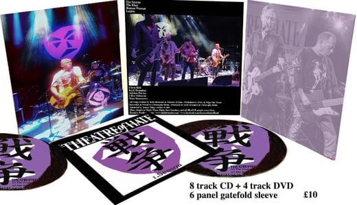 THEATRE OF HATE 1.Sensou CD/DVD Gatefold