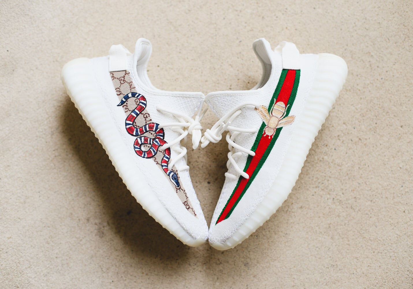 Gucci snake and bee | SHOECHEF