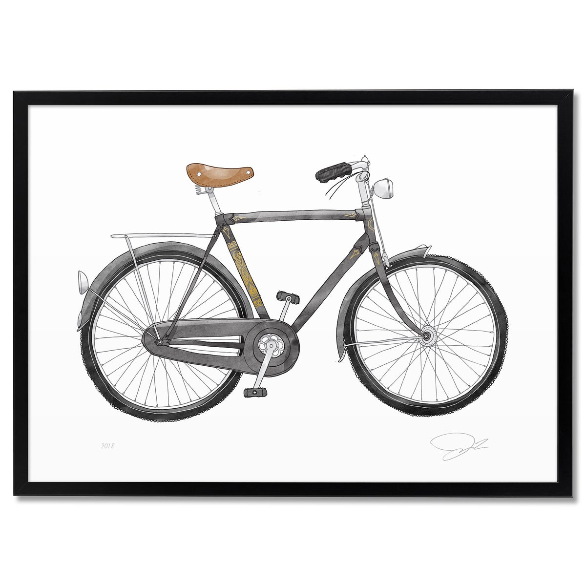 Image of Print: Bike