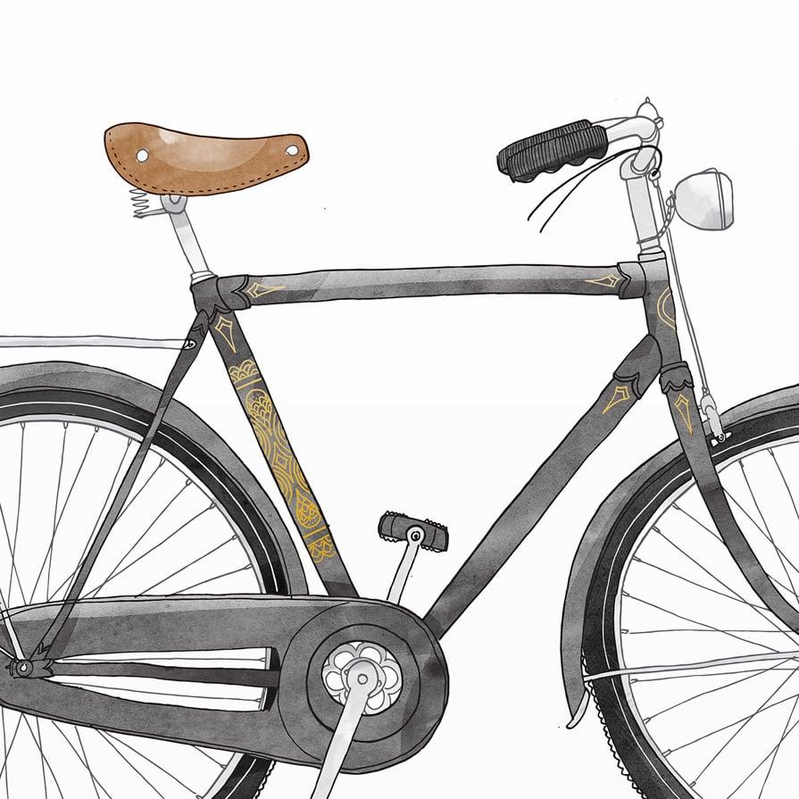 Image of Print: Bike