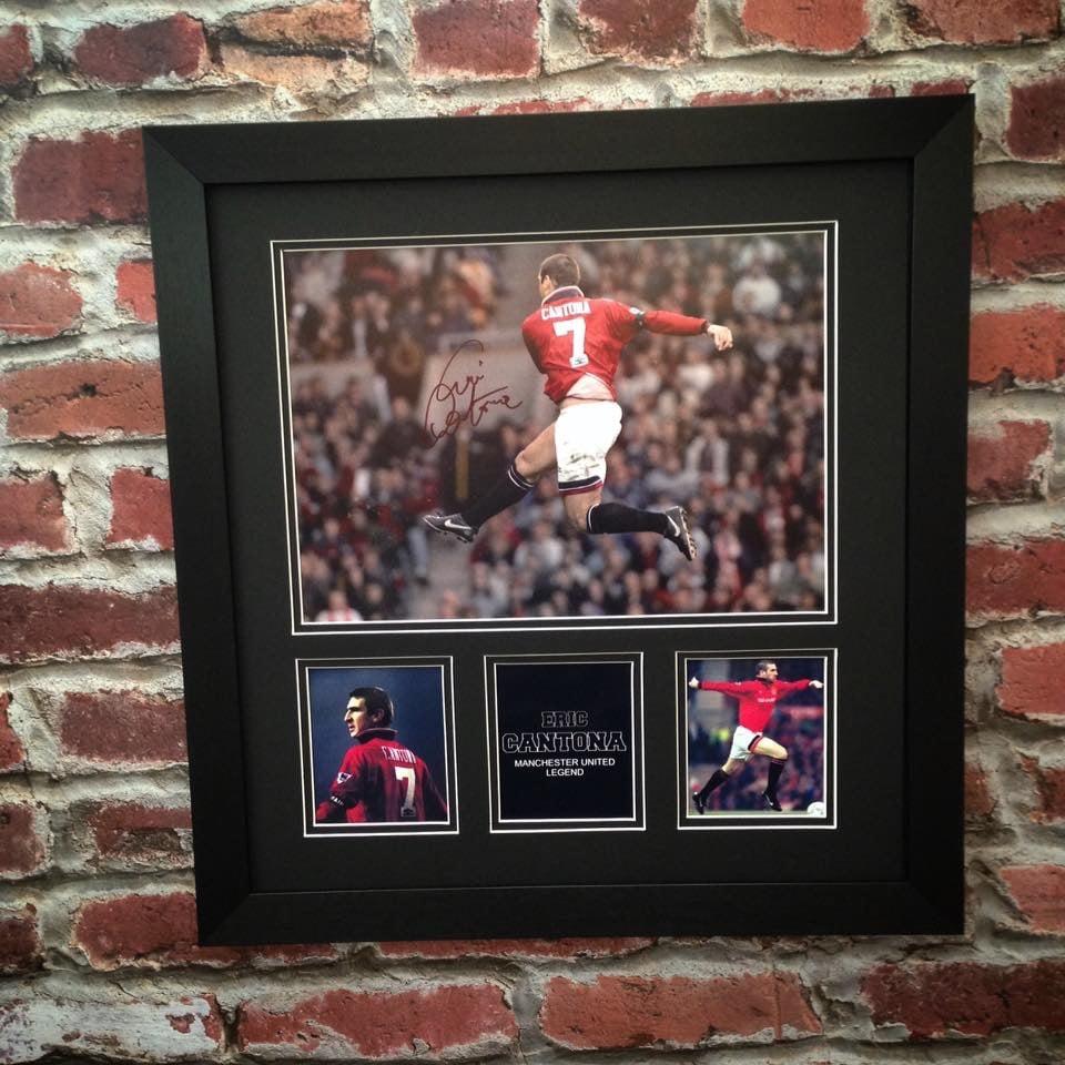 Image of Eric Cantona large signed photo