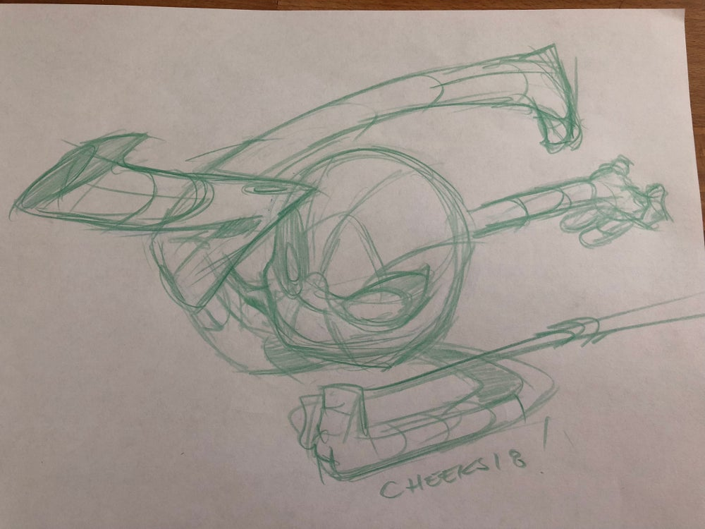Image of Spiderman chibi