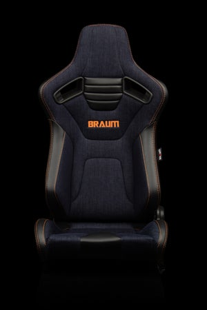 Image of Limited Edition - Denim - Elite X Series - Universal BRAUM Racing Seats - PAIR