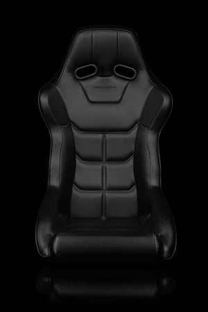 Image of Falcon X Series - FIA Certified - Universal Braum Racing Seat- SINGLE Seat - Leatherette