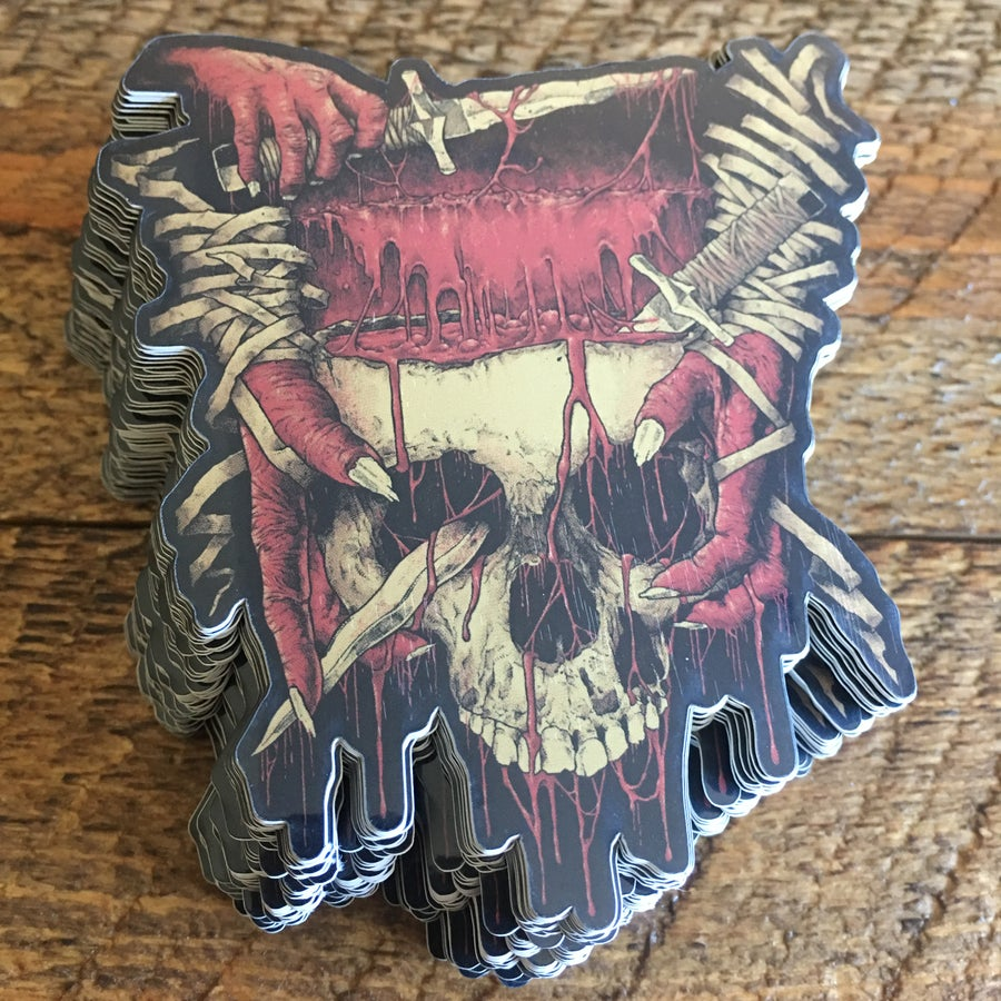 Image of Blood Atonement Sticker