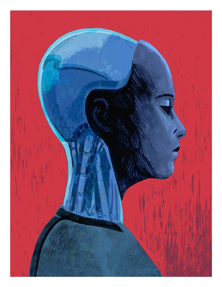 Image of EX MACHINA Print