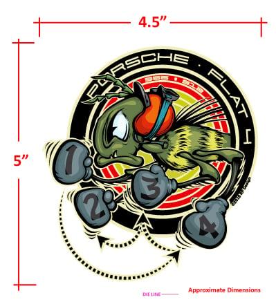"Image of 912-356 FIRING ORDER STICKER SET -  5"""