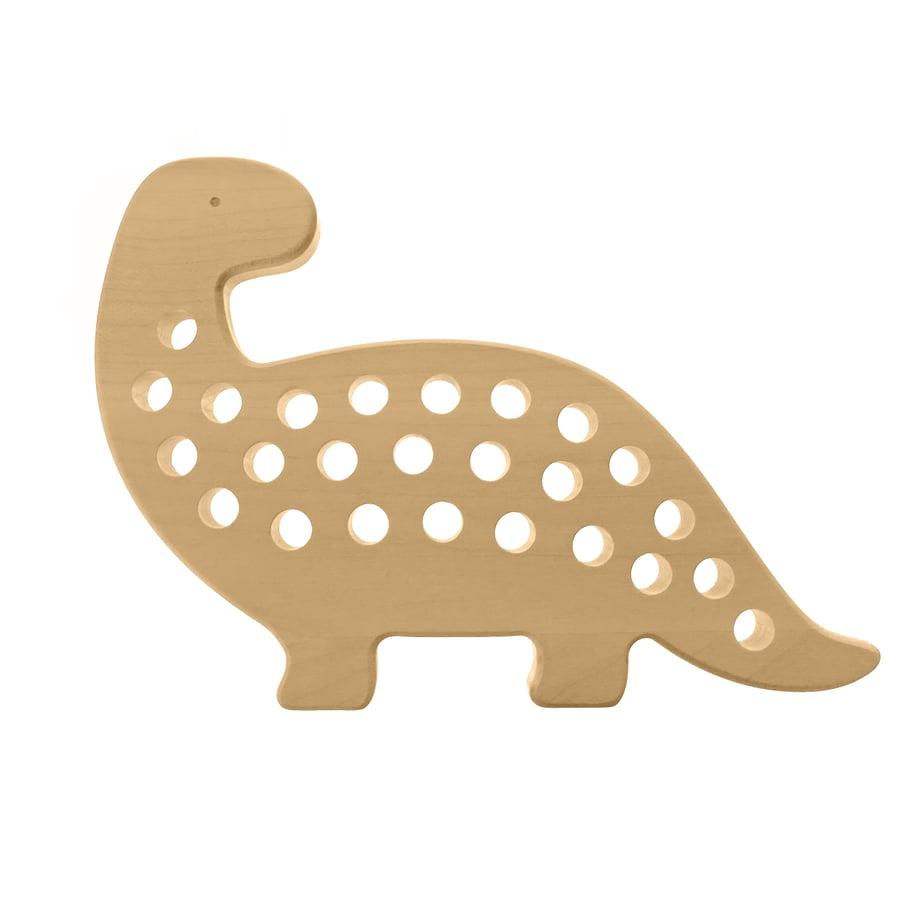 Image of Jouet de laçage Dino