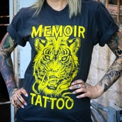 Image of Christina Ramos- Memoir Tattoo Tiger T-shirt / NO OVERSEAS SHIPPING