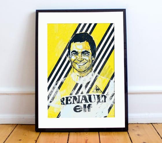 Image of Bernard Hinault A4 or A3 - By Matthew Burton