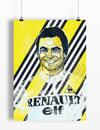 Bernard Hinault A4 or A3 - By Matthew Burton