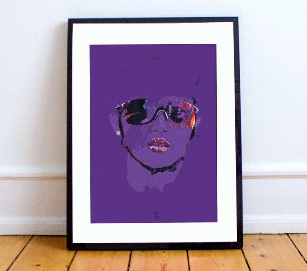 Image of Coryn Rivera print A4 or A3 - By Matthew Burton