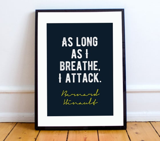 Image of Bernard Hinault quote print - A4 or A3