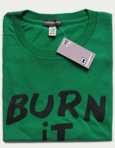 Image of 'BURN IT DOWN' T-SHIRT.