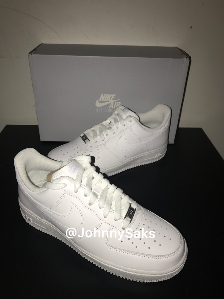 "Image of Nike Air Force One Low ""white/white"""