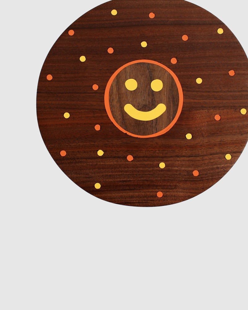 Image of Smiley & Dots Inlay Stool