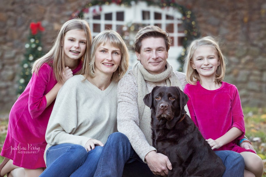 Image of Family Christmas Mini Session