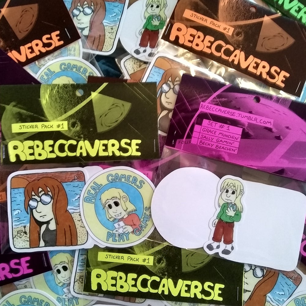 Image of Rebeccaverse Sticker Pack #1