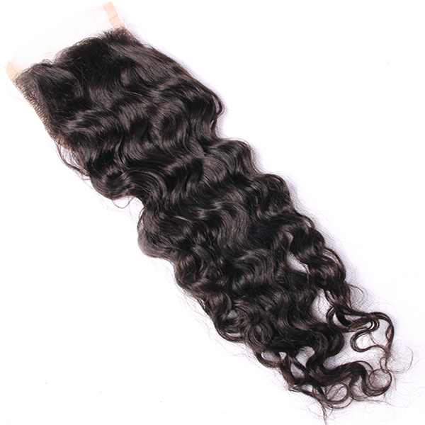Image of Raw Indian Curly 4*4 Closure