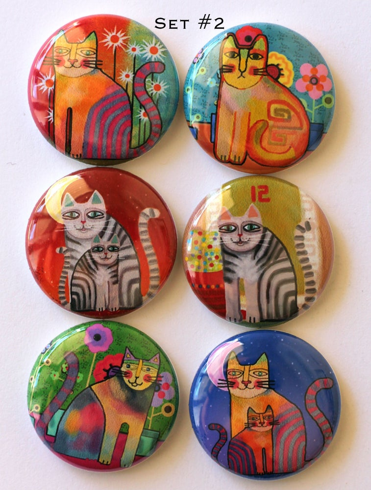 Image of Cat Flair Buttons