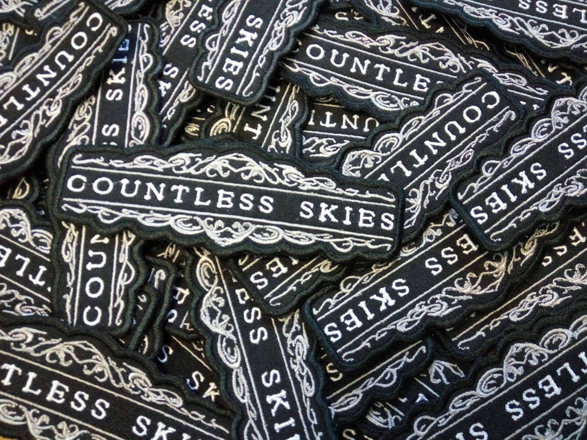 Image of Countless Skies Logo Patch