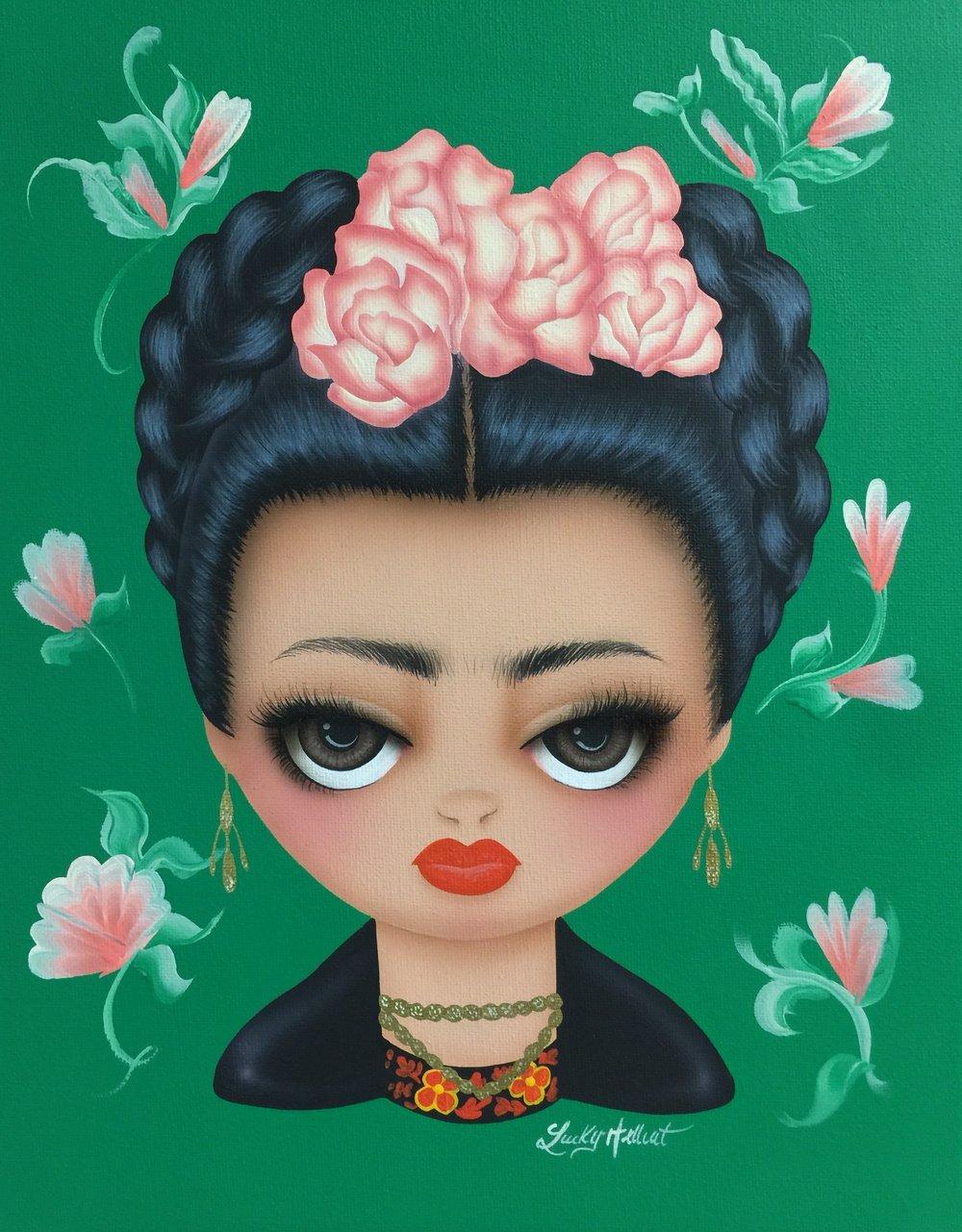 Image of Frida Kahlo Signed Print