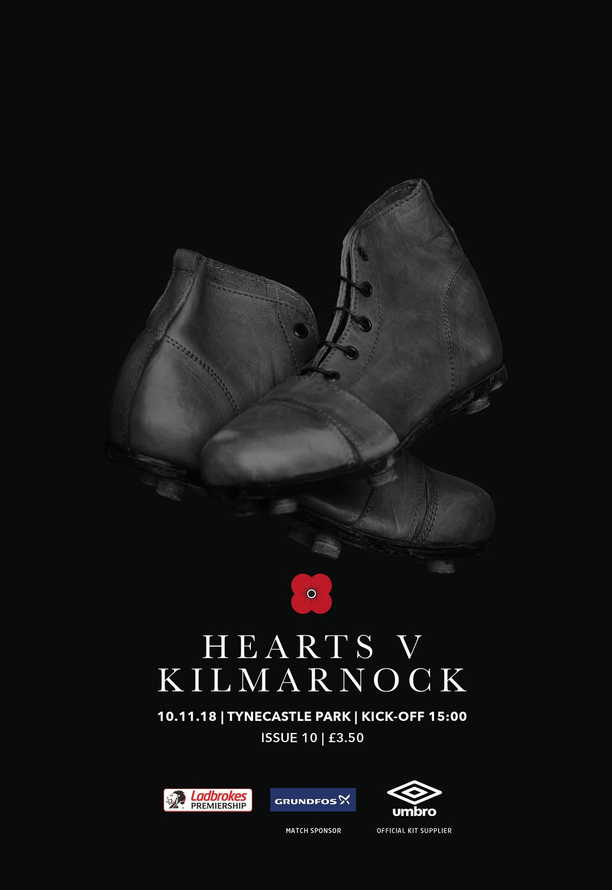 Image of Hearts v Kilmarnock, 10th November 2018