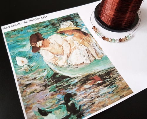 Image of LAKESIDE - JEWELLERY KNITTING KIT