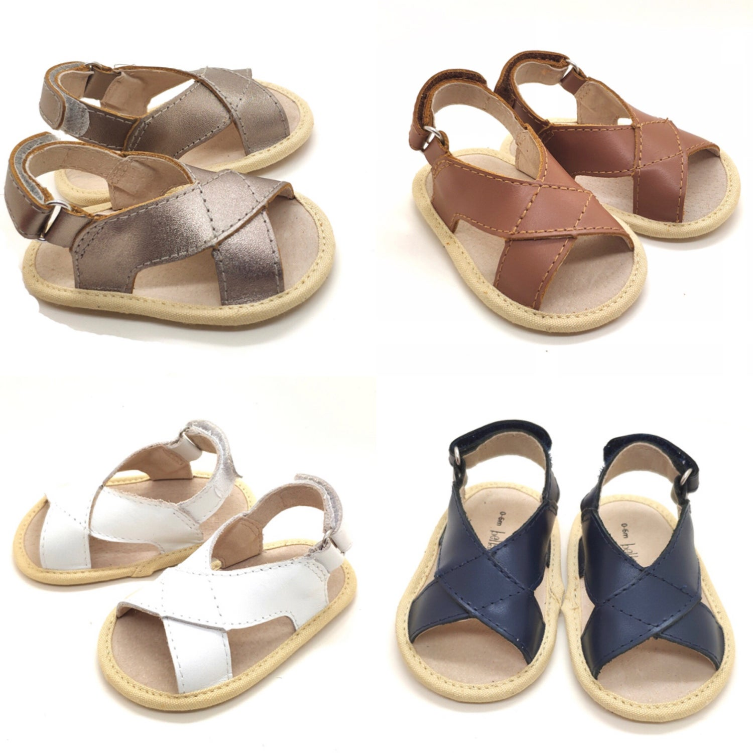 Image of Bella & Ollie Ollie Luxe Sandals