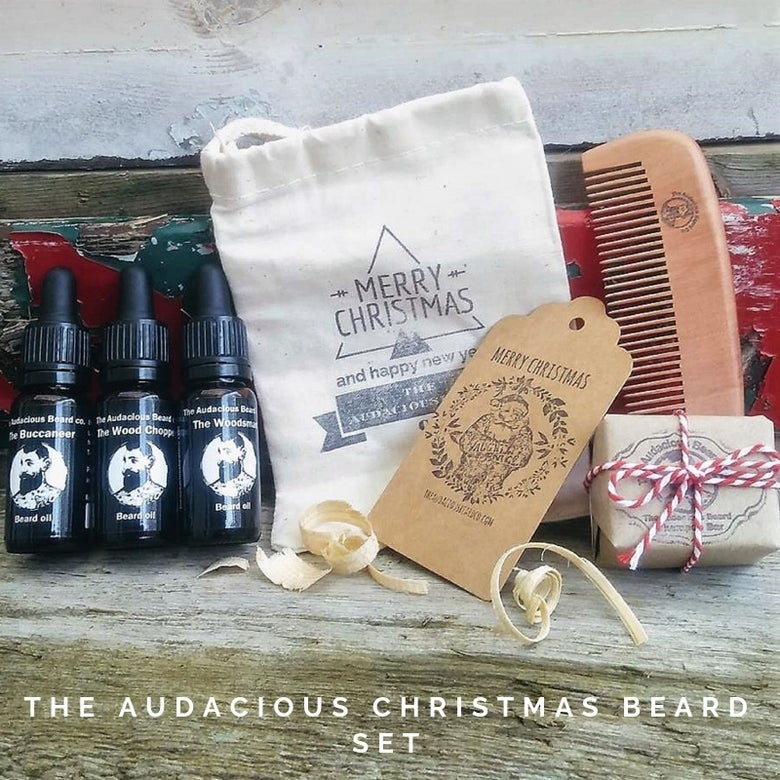 Image of The Audacious Christmas Beard Gift Set  - The Audacious Beard Co