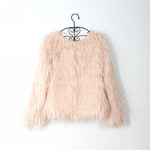 Image of Valarie Faux Fur Jacket
