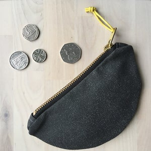 Image of Half Moon coin purse
