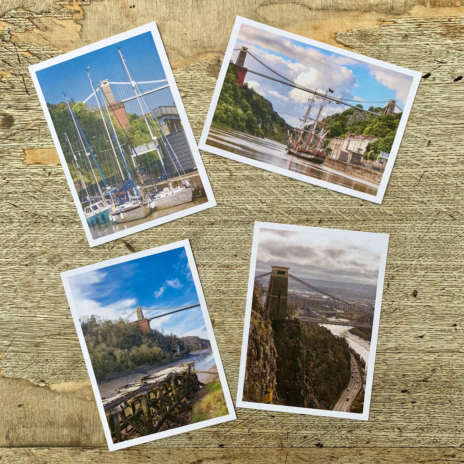 Image of Clifton Suspension Bridge postcard set
