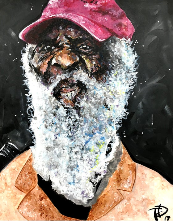 Image of Dick Gregory (canvas print)