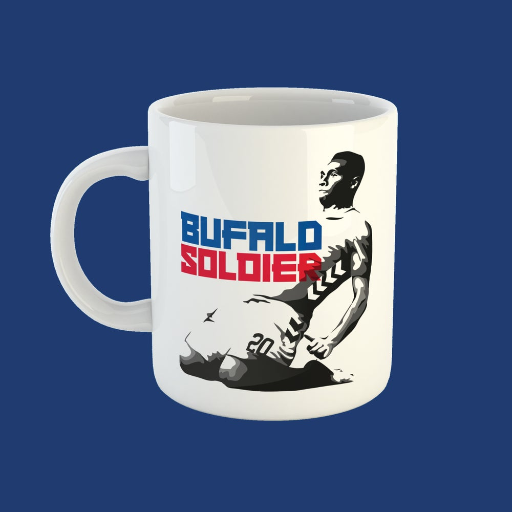 Image of Bufalo Soldier mug