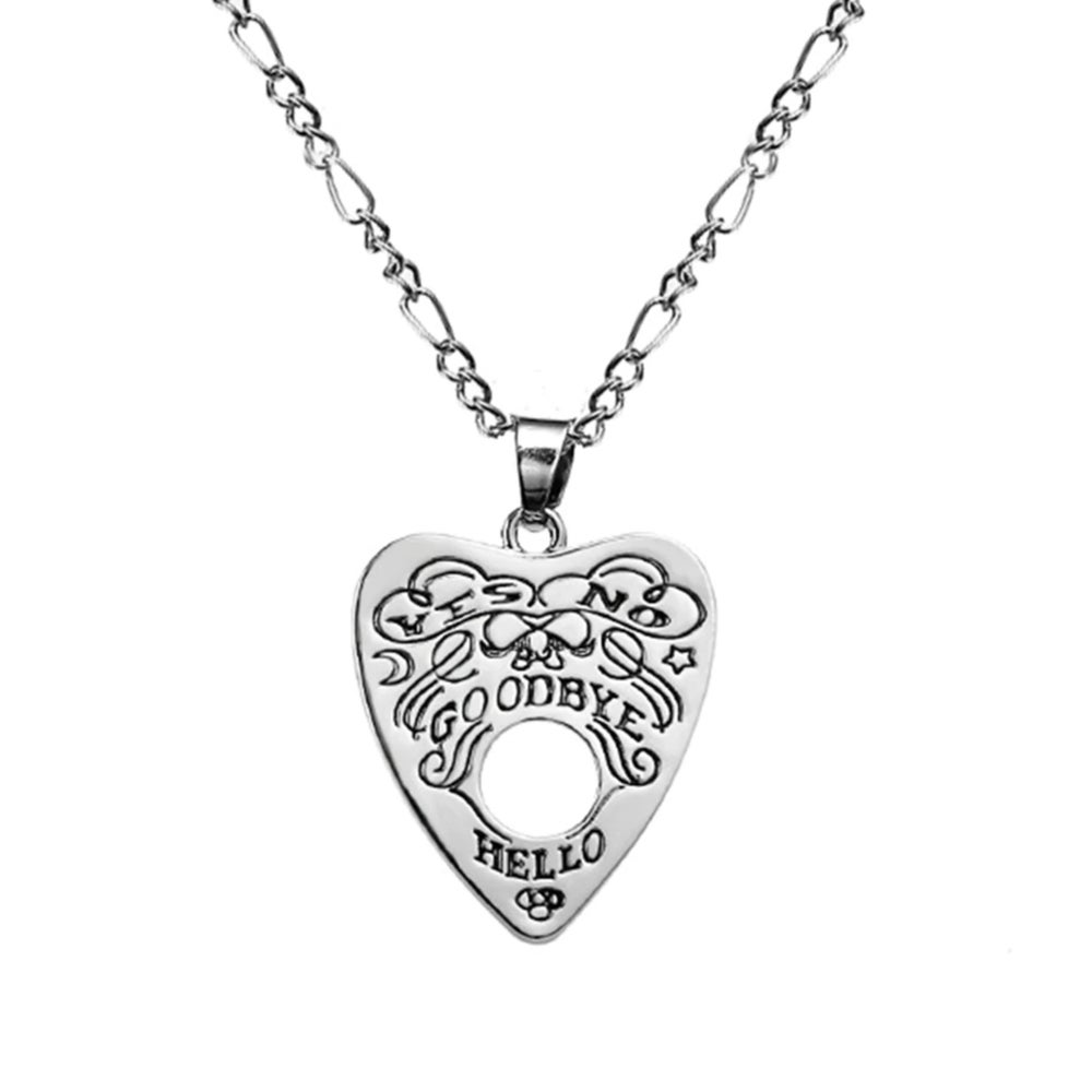 Image of OUIJA PLANCHETTE NECKLACE