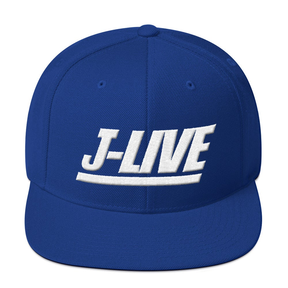 Image of J-LIVE NYG Wool Snapback Hat