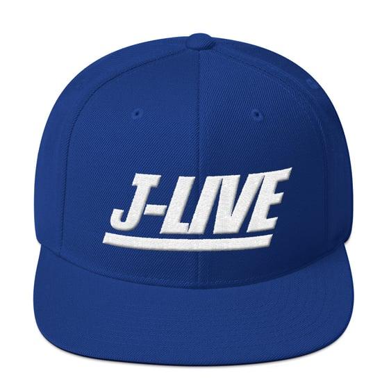 Image of J-LIVE NYG Wool Snapback Hat