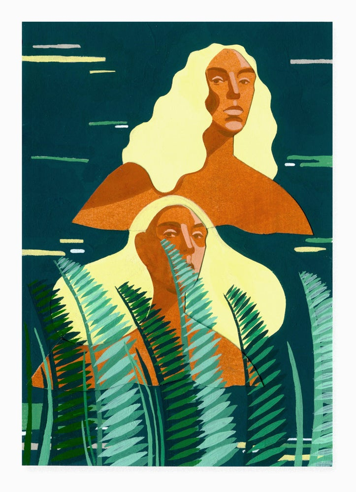 Image of 'Lara & Aia' painting