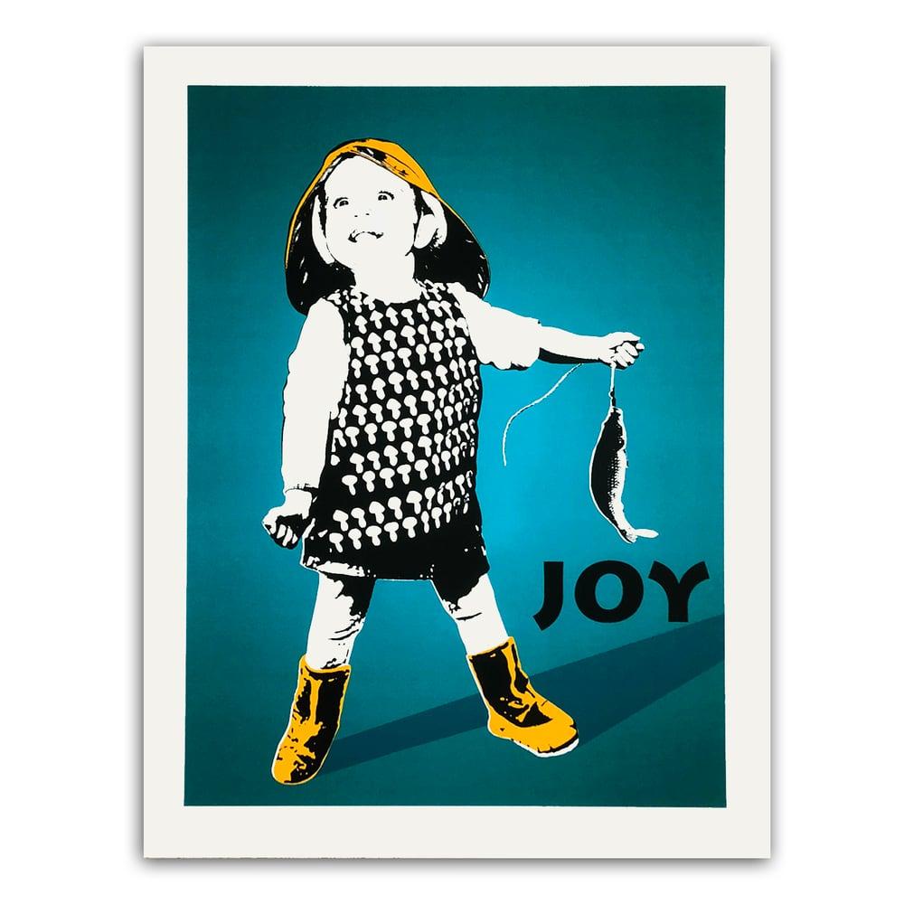 Image of JOY - Fiskelykke blå