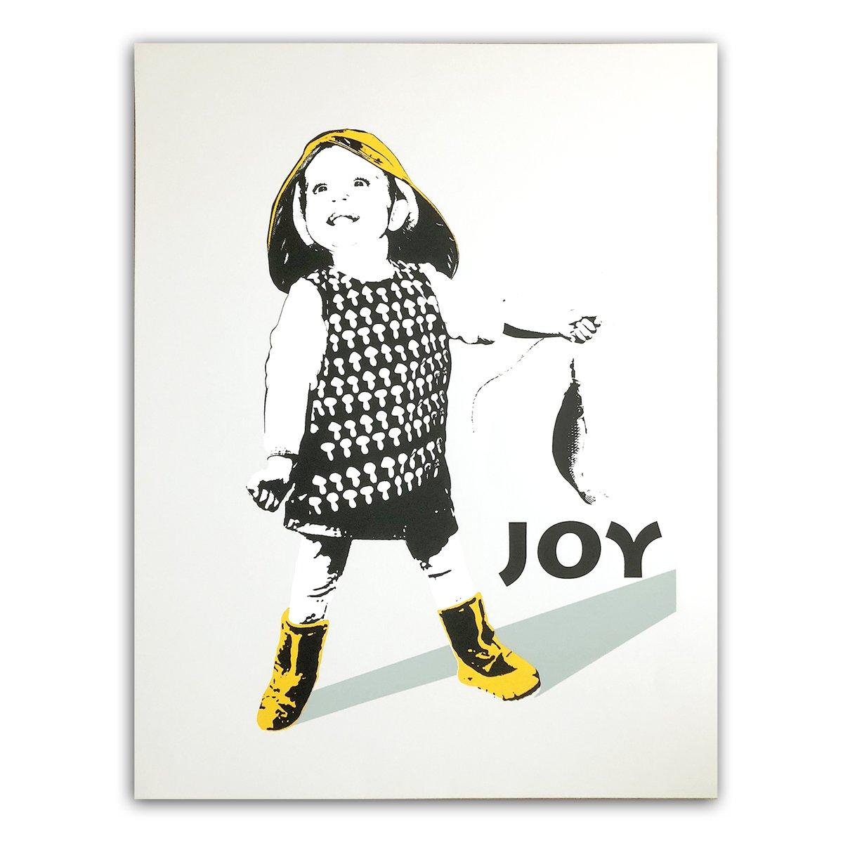 Image of JOY - Fiskelykke hvit