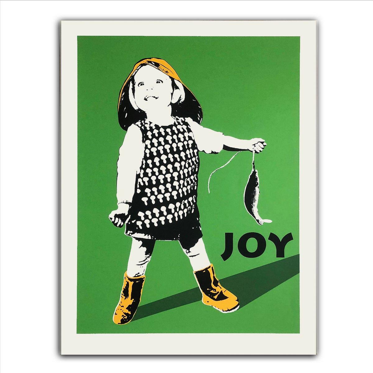 Image of JOY - Fiskelykke grønn