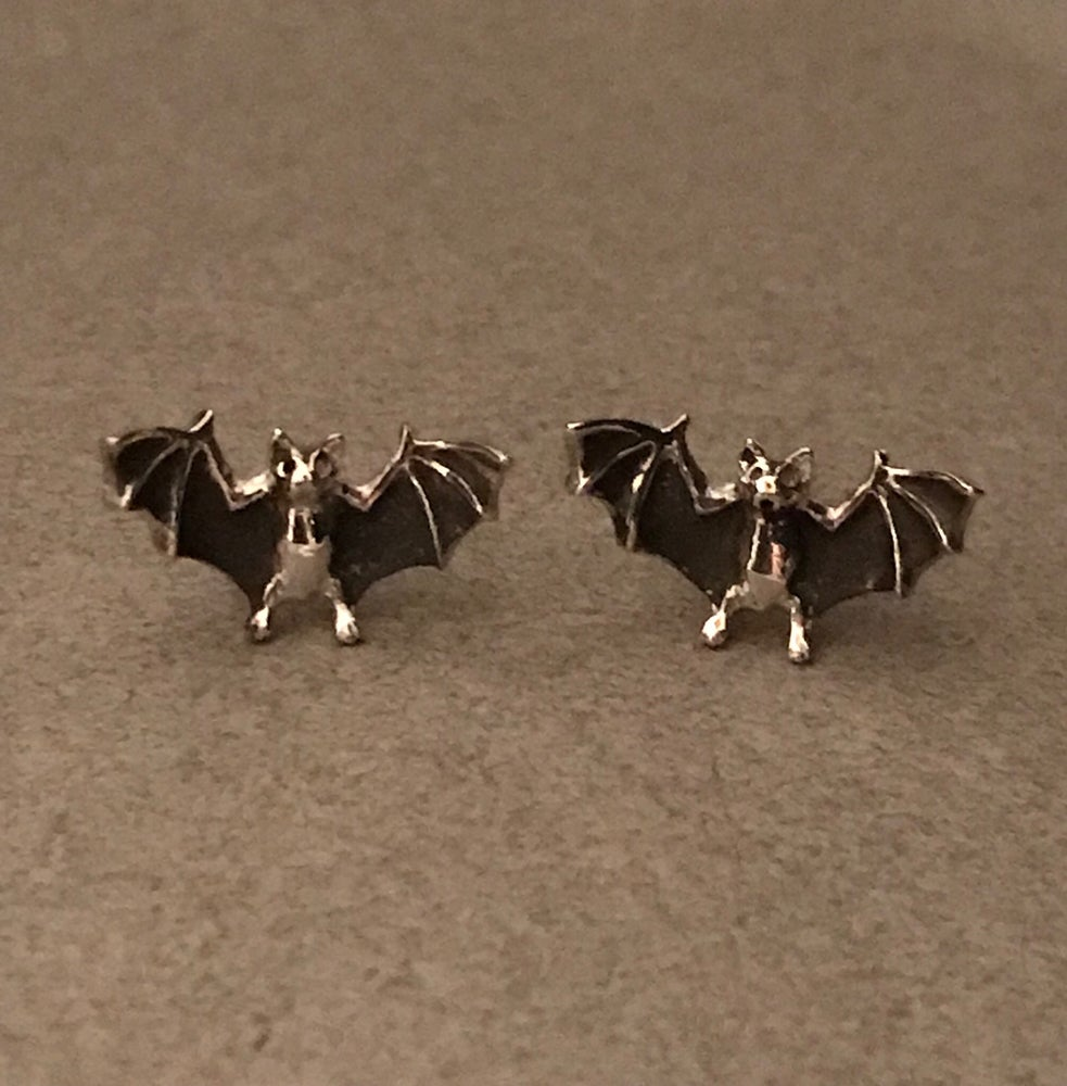 Image of Bat Earrings