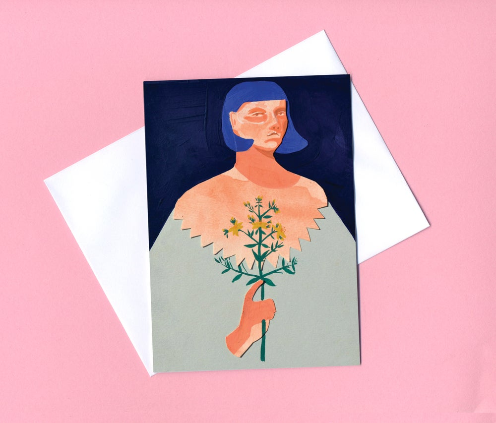 Image of Alice greetings card