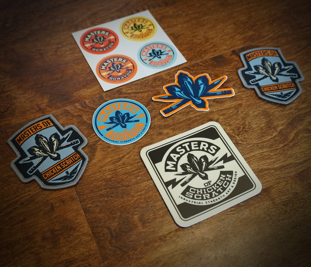 Image of MOCS Patches and Stickers