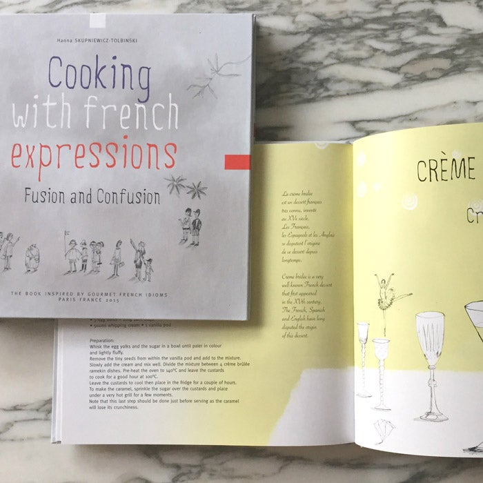 Image of Cooking with french expressions